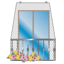 PROTECTIVE NET FOR BALCONIES